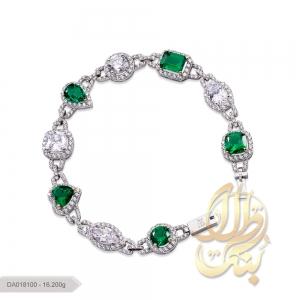 دستبند پایه جواهر لوکس