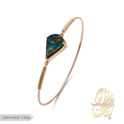 دستبند فیروزه دست ساز اصل نیشابور