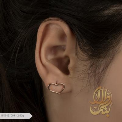گوشواره قلب تیفانی